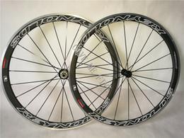 Wholesale Reynolds Road Wheelset - Reynolds STRIKE SLG 38mm Clincher 23mm Width Carbon Road Bike Wheels Aluminium Alloy Brake Surface Bicycles Wheelset 20 24 Holes 700C Sapim