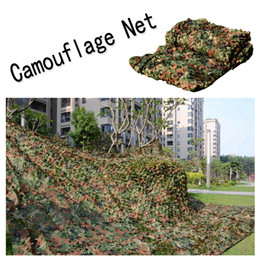 Wholesale Camping Military Camouflage Net - Outdoor Camping Woodland Camo Netting Camo Netting Camouflage Net Mesh Military For Camping Hunting Shooting Sunscreen B112L