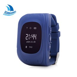 Wholesale Baby Meter - Wholesale- 2017 Smart Phone Kids Safe GPS Watch Wristwatch SOS Call Location Finder Locator Tracker for Children Baby Anti Lost Monitor Q50