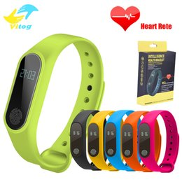 Wholesale M2 Pro - Smart band M2 M2 pro Bluetooth4.0 Waterproof IP67 Smart Bracelet Heart Rate Monitor Sleep monitor Wristband for Android iOS