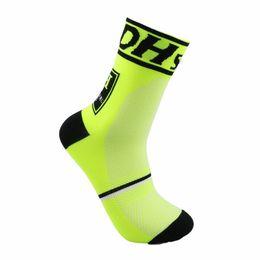 Wholesale Outdoor Hoses - Sports Socks For Men Bike Riding Sock Summer Outdoor Breathable Wear Resisting Non Slip Hiking Yoga Hose Moisture Wicking 7 5qm F
