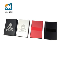 Wholesale Laser Lighter Wholesale - young trend Cigarette cases ultrathin lighter colorful individuality box for men and women carry everywhere Pick up hot chicks