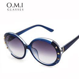 Wholesale Vintage Silver Star - NIRVANA Kurt Cobain Sunglasses 2017 Classic Vintage Retro Oval Fashion Star Style Wiz Khalifa Neff Sun Glasses OM208