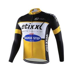 Wholesale Full Steps - 2017 quick step long sleeve cycling jersey men bicicleta ropa ciclismo hombre bike maillot ciclismo mtb bicycle clothing D1225