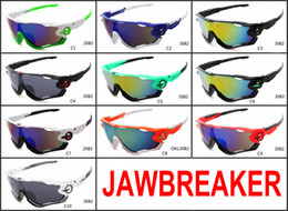 Wholesale Adult Bicycles - 2017 brand Sunglasses hot Jawbreaker Polarized sunglasses for women men sport bicycle sun glasses glasses 10 Colors high quality