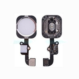 Wholesale For iphone6 plus Home button with flex cable touch ID sensor FOR IPHONE PLUS Original replacement parts