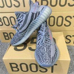 Wholesale Wholesaler Boots - ORIGINALS Y BOOST 350 V2 AH2203 CHARCOAL GREY BLACK RES RED NOIR RES ROUGE BELUGA 2.0 RUNNING SHOES KANYE WEST SPLY 350 V2 BOOSTS