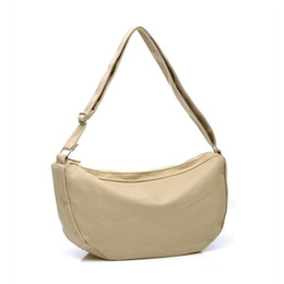 Wholesale Cheap Luxury Handbags Women Bags - Wholesale- Luxury Handbags Women Bags Designer Simple Style Solid Canvas Crossbody Bag High Quality Hobos Cheap Price