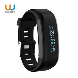 Wholesale Material Wristbands - Wholesale- Waterproof NO.1 Smartband Silicone Material Wristbands Sports Intelligent Bracelet With Mobile Phone Calls Heart Rate Monitor