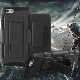 Wholesale Future Iphone - For iPhone 6S Plus iPhone 6S Future Armor Impact Hybrid Case for Sansumg S7 Case with Belt Clip Holster Kickstand Case with Opp Package