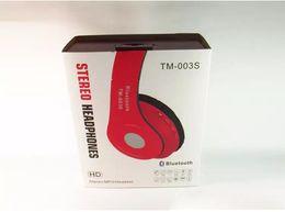 Wholesale Earphones For Lg Mobile - Bluetooth Headphone Wireless 4.1 EDR earphone headset Earphone Folding With MF TF for Apple Samsung HTC LG Mobile Phone