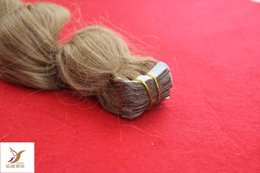 Wholesale Tape Extensions Loose Wave - Special Pin Brazilian Loose Wave Strawberry Blonde Color Tape Hair Extension 100% Virgin Brazilian Human Remy Hair 6A Hair