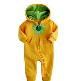 Wholesale Toddler Winter One Piece - Baby romper autumn winter romper babies jumpsuit reborn baby long sleeve Toddler Jumpsuits Infant One Piece Clothing