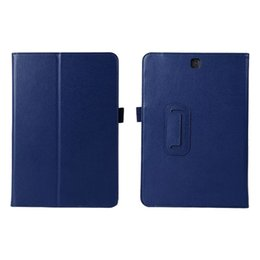 """Wholesale Printing Tabs - S5Q Premium Shockproof Flip Stand Case Cover For 9.7"""" Samsung Galaxy Tab A SM-T550 AAAGMB"""