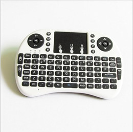 Wholesale Tv Oem Android - Rii I8 Smart Fly Air Mouse Remote Backlight 2.4GHz Wireless Keyboard Remote Control Touchpad For S905X S912 Android TV Box MXQ T95