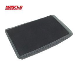 Wholesale Painting Pads - Wholesale- High Quality Magic Clay Bar Mitt Pad Car Wash Cleaning Detailing Wax Applicator Car Paint Repair MARFLO by Brilliatech
