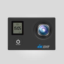Wholesale V3 Camera - 2017 V3 dual-screen camera motion action 170 degree wide-angle 4K2 inch travel motion DV camera wireless WIFI6 colors