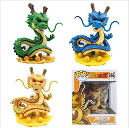 Wholesale Dragon Ball Shenron - FUNKO POP Official Dragon Ball Z Super Sized 265# shenron Vinyl Action Figure Collectible Model Toy