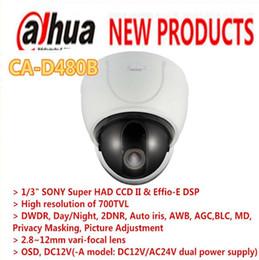 """Wholesale Super Effio - CA-D480B Dahua Tech 1 3"""" SONY Super HAD CCD II & Effio-E DSP Vandal-Resistant Dome Camera 2.8-12mm Varifocal lens de Security"""