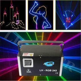 Wholesale Laser Light Show System - 45kpps 2000mW ILDA RGB full color laser light, cartoon laser show system, animation laser lighting, prolighting