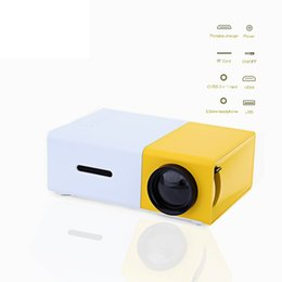 Wholesale Manual Compact - Wholesale-Design Mini Probable Projector Concise Efficient Compact YG-300 LCD Projection 400-600 Mini ProyectorTheater Home Media Player