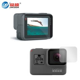 Wholesale Film Settings - GoPro5 Lens and LCD Screen Protector Film For Gopro Hero 5 Black Action Camera Accessories Set Kit