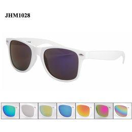Wholesale Frames Wholesale China - Cheap wholesale white frame sunglasses china fashion men & women gafas de sol mujer