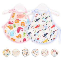 Wholesale Stomach Warmer - Wholesale- Wholesales Thickened Baby Bib Soft Cotton Baby Clothing Nursing Bellyband Newborn Stomachers Belly Cover Keep Baby Stomach Warm