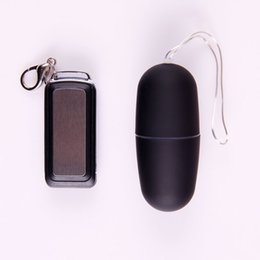 Wholesale Sex Materials Women - Sex Toys For Woman 68 Speed Frosted ABS Material Wireless Remote Control Vibrating Love Egg With Pouch Thong Waterproof Vibrator ZA2894