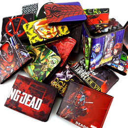 Wholesale Bit Coins - Wholesale- DC cartoon wallet to be dead   small yellow person   Ant-Man   Future Soldier and other multi-card bit minimalist wallet