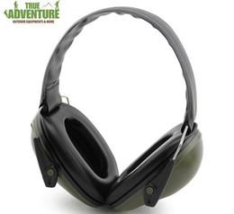 Оптовая новый уха протекторы анти-шум наушники тактический открытый охота стрельба защита слуха уха звуконепроницаемые уха муфты Бесплатная доставка от
