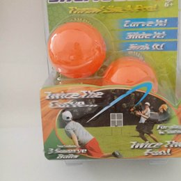 Wholesale Wholesale Outdoor Play Set - 2017 Sport Outdoor Play Toys New Swerve Ball The Amazing Ball That Lets Anyone Throw Like a Pro Children Gifts 3pcs balls set ZJ-B01