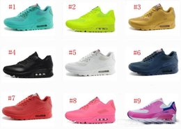 Wholesale Gold Lovers Cream - Lover Maxs 90 USA flag Men Running Shoes2017 new American independence Day factory outlet sneaker for women