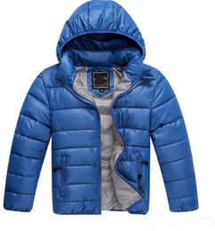 Wholesale Kids Clothing Sale Free Shipping - hot sale new Style Children's Down Cotton Coat Winter Warm Baby Boys Clothing Girls Outwear Kids Coat Free Shipping