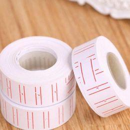 impresión de tarjetas de saludos Rebajas Precio de venta al por mayor 10pcs / lot Etiqueta de papel de precio Etiquetado de precios con 500 hojas / rollo para pistola