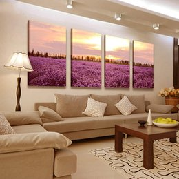 Wholesale Large Wall Art Oil Paintings For Bedroom Furniture Canvas Landscape Artwork Home Decor for Hallway