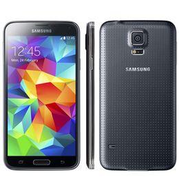 "Wholesale Unlocked Galaxy Smart Phone - Original Unlocked Samsung Galaxy S5 i9600 Mobile Phone 5.1"" Super AMOLED Quad Core 16GB ROM NFC G900A G900T G900V G900F Smart Phone"