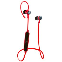 Wholesale Ear Hook Computer Earphone - S6-1 Sport Wireless Bluetooth 4.1 Earphone Stereo Metal Headset Microphone For IPhone 7 6 5 xiaomi Samsug and all Phone Computer