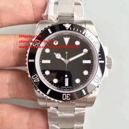 Wholesale Mens Automatic Diving Watches - Best Edition Dive Watch NOOB Factory Maker V7 40MM 114060 No DATE 116610 116610LN 116610LV Swiss ETA 3135 Movement Automatic Mens Watches