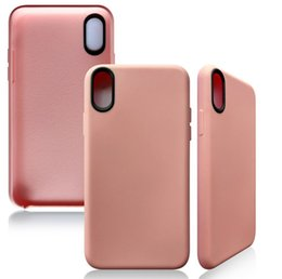 Wholesale Iphone Cheap Sell - new fasion original PU leather TPU anti-shock case cover skin sell for iPhone 8 cheap case