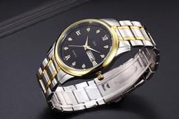 Argentina DHL libre fecha automática de moda de lujo hombres mujeres el reloj de acero de cuarzo movimiento de cuarzo reloj de los hombres Suministro