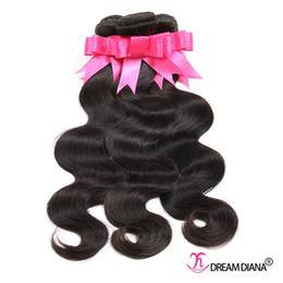 Wholesale Cheap Piece Brazilian Weave - Brazilian Virgin Hair Body Wave Human Hair Weave Cheap Brazilian Body Wave Hair Bundles for Wholesale 3pcs Lot Natural Color 1B