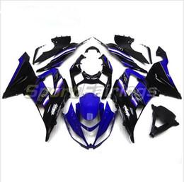 3 бесплатные подарки новый горячий ABS мотоцикл обтекатель комплекты 100% подходят для Kawasaki Ninja ZX-6R 636 2013 2014 2015 ZX636 13 15 фиолетовый черный vvS1 от Поставщики жёлтый обтекатель zx6r