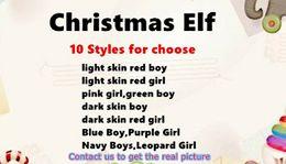 Wholesale Shelf For Books - Free DHL Shipping 20PCS lot 10 Style Christmas Elf Doll Plush toys Elves Xmas dolls and Soft Back Books on the shelf For Kids Christmas Gift
