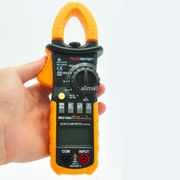 Wholesale Clamp Multimeter Brands - Freeshipping Portable Digital Clamp Meter Multimeter AC DC Current Volt Tester Brand New