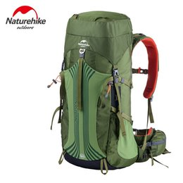 Wholesale Camping Bag Mountain Backpack - NatureHike Sports Bag Professional Hiking Camping Backpack Breathable Big Capacity 55L Outdoor Mountain mochila for Travel