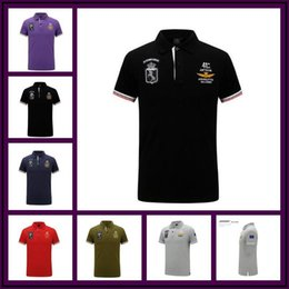 Wholesale air collars - New 2017 Aeronautica Militare Men Polo Shirt Summer Style Air Force One Shirt Men Short Sleeve Turn-down Collar Polo Camisetas