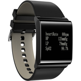 Canada Vente en gros-Smartch X9 PLUS fréquence cardiaque Wristband Moniteur de pression artérielle oxygène bande intelligente pour ios android sommeil Podomètre Montre étanche cheap x9 watch Offre
