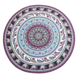 Wholesale Hooked Rugs - Indian Bohemian Mandala Tapestry Wall Hanging Sandy Beach Picnic Throw Rug Blanket Camping Tent Travel Mattress Sleeping Pad