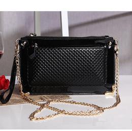 Wholesale Natural Leather Bags - Wholesale- New 2015 women handbag fashion design women leather handbag natural leather clutch evening bag genuine leather shoulder bags